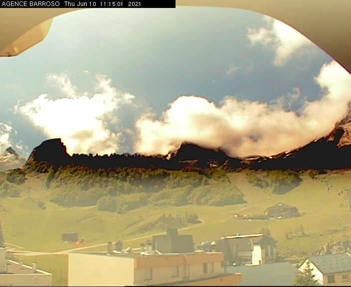 Webcam en Gourette - Panoramique